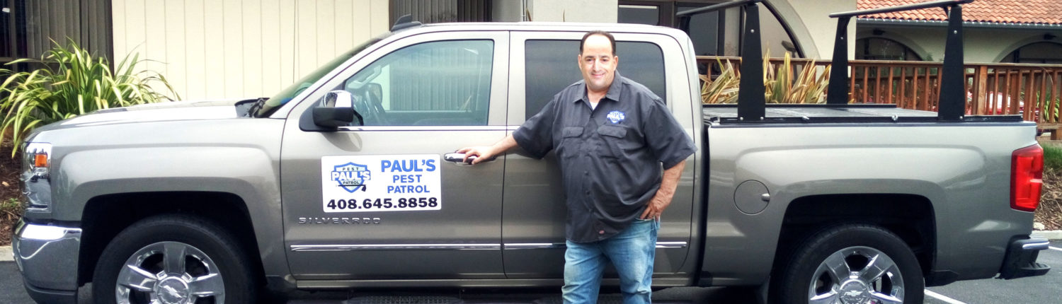 Paul's Pest Patrol Truck